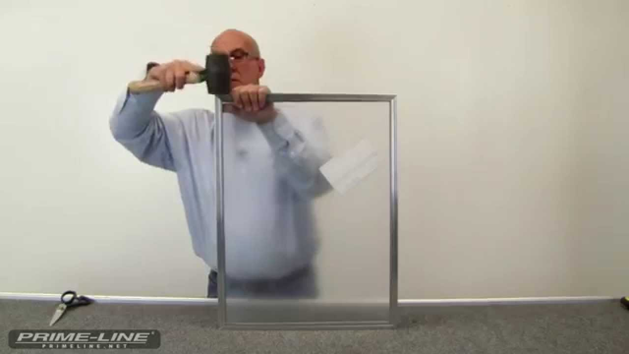 HowTo Build a Storm Window YouTube