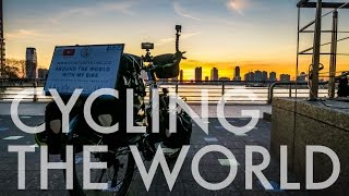 TRAVELING THE WORLD WITH THEIR BICYCLES |A Day in NYC with Startup Cycling