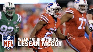 LeSean McCoy Highlights (Week 10) Bills vs. Jets | NFL