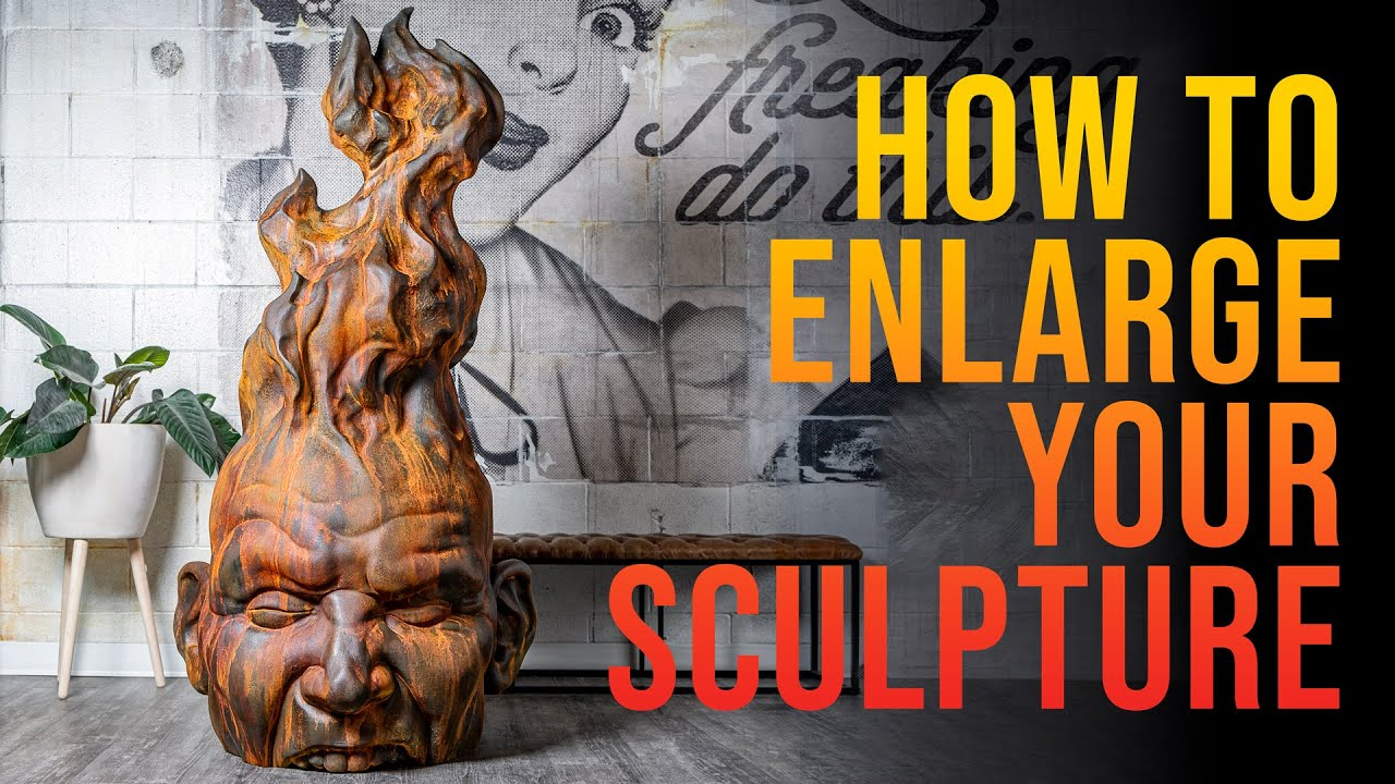 Sculptural Enlargement - Firehead Project