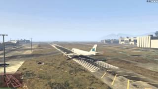 GTA V [Exploding Jumbo Jet] PC HD GTX970