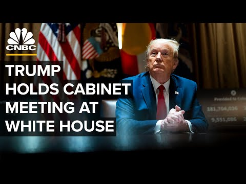 WATCH LIVE: President Trump holds cabinet meeting at the White House – 5/19/2020