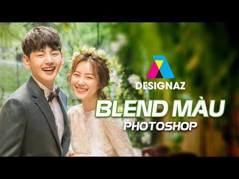 Học blend màu ảnh cưới, Học chỉnh màu ảnh cưới trong photoshop online