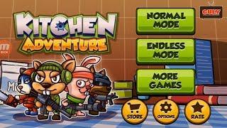 Biệt Đội Chuột phiêu lưu trong nhà bếp - cu lỳ chơi game kitchen adventure