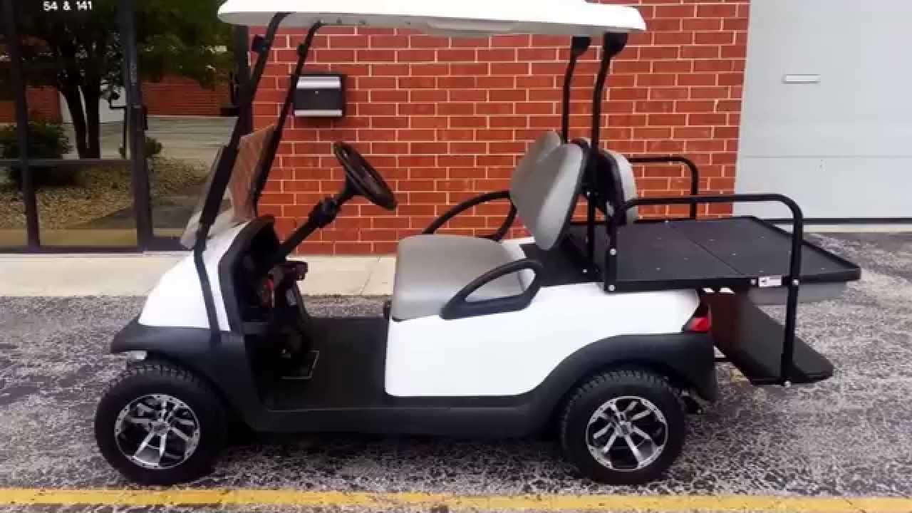 2011 club car precedent golf cart custom rims turn signals flashers brake lights more youtube. Black Bedroom Furniture Sets. Home Design Ideas
