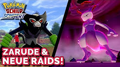 Zarude als mysteriöses Pokémon angekündigt in Schwert und Schild & neue Raids!