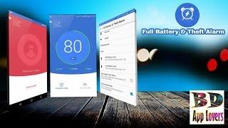 Full battery & theft alarm - Battery saver - Alarm battery screenshot 4