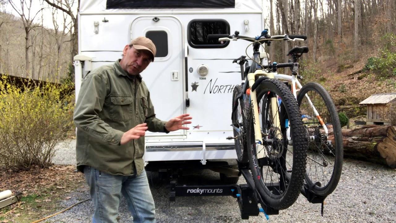 Best Hitch Mount Bike Rack >> Rockymounts Backstage 2 Best Hitch Mount Bike Rack Review Youtube
