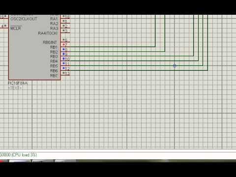 Cours n°6: réalisation d'une montre digitale avec LCD et le microcontroleur PIC16F84عمل ساعة رقمية