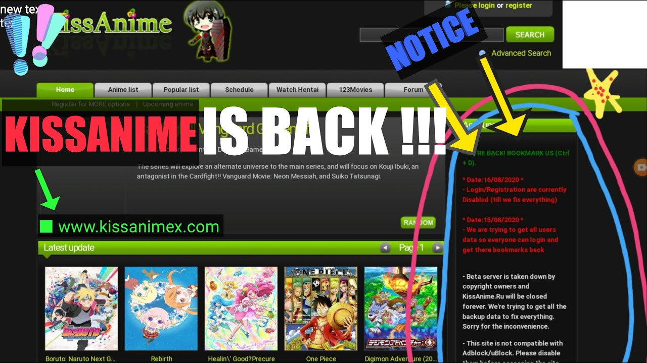 Download Watch From Kissanime Even After Shutdown [KISSANIME IS BACK]