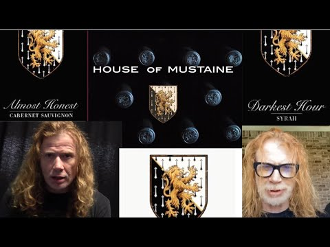 Megadeth's Dave Mustaine and House Of Mustaine Winery release three new wines