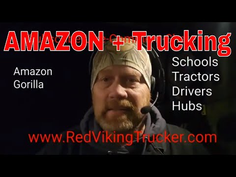 Amazon Is About To Dominate Trucking   Red Viking   Werewolf   RVT   Trucker   Tanker Driver