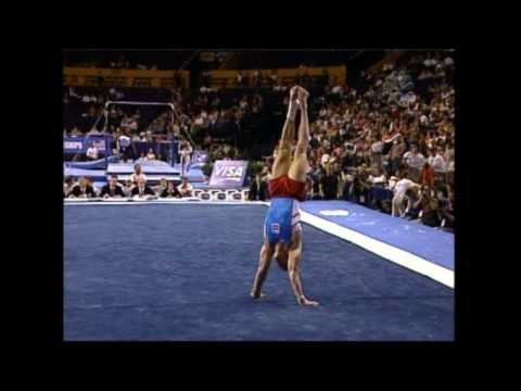 Paul Hamm - Floor Exercise - 2004 U.S. Gymnastics Championships - Men
