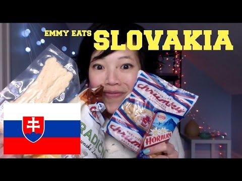 Emmy Eats Slovakia - tasting Slovak sweets