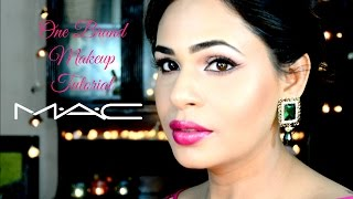 One Brand Makeup Tutorial | M.A.C. | Come back