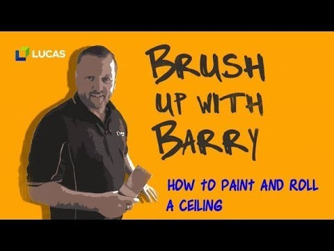 How To Paint/Roll a Ceiling Without Misses or Streaks - Tutorial 2018
