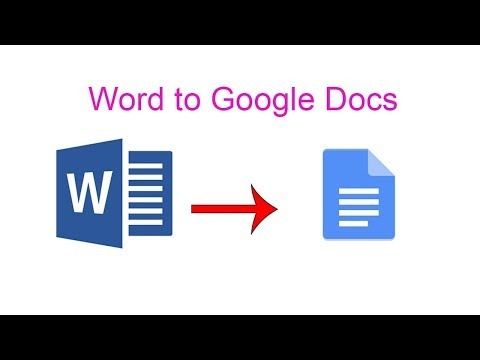 Open & Edit A Word File In Google Docs