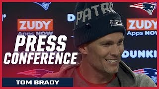"""Tom Brady on TNF vs. the Giants: """"It will be a great atmosphere"""" Video"""