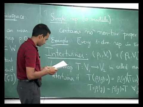 I. The Group Algebra