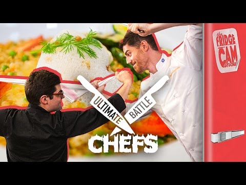 THE ULTIMATE CHEF VS. CHEF BATTLE Pt. 2 | FridgeCam