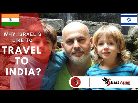 Why do Israelis like to travel to India?