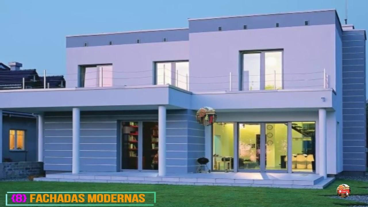 Los mejores 15 fachadas casas pintadas con colores - Fachadas de casas pintadas ...