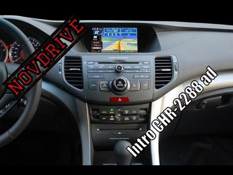 NovDrive обзор ГУ Intro CHR-2288 для Honda Accord VIII