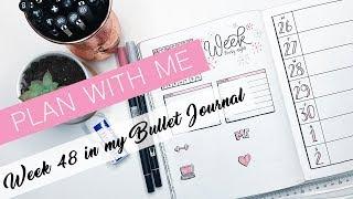 Plan With Me: Week 48 in My Bullet Journal
