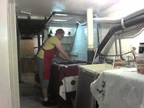 Screen printing t-shirt(s) process