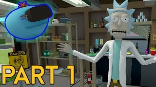 Rick and Morty: Virtual Rick-ality | Full Playthrough (No Commentary) - Part 1 [FOV Fixed]