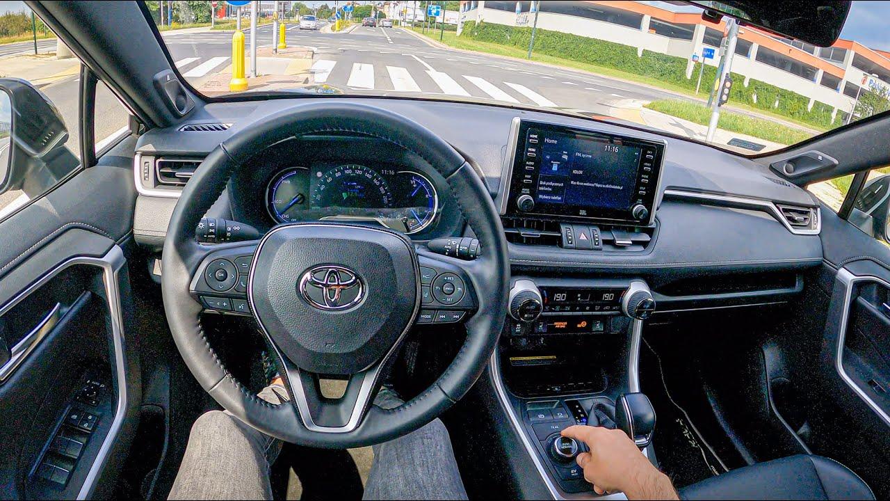 2021 Toyota RAV4 Black Edition [2.5 HYBRID 222 HP] | POV Test Drive #853 Joe Black