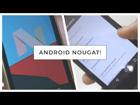 How To : Install Android Nougat on Android One! (Canvas A1, Dream Uno, Sparkle V) (CyanogenMod 14)