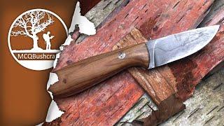 MCQBushcraft Knives: Camp Knife & Neck Knife