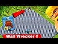 🔥Full New Wall Bass VS New Troops Wall Wrecker Amazing Attack