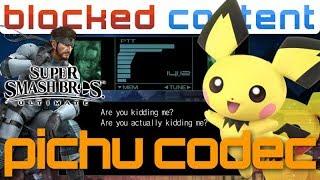 PICHU vs Snake CODEC CALL Conversation (Super Smash Bros. Ultimate)