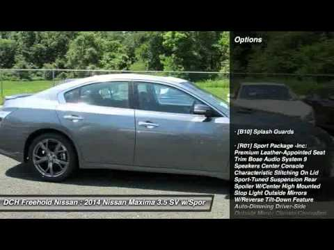 2014 Nissan Maxima 35 Sv Wsport Pkg Freehold Nj 07728 Youtube