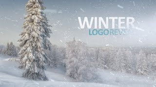 Winter Logo Reveal After Effects Template