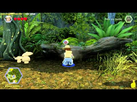 Lego Jurassic World: Ankylosaurus Territory FREE ROAM (All Collectibles) - HTG