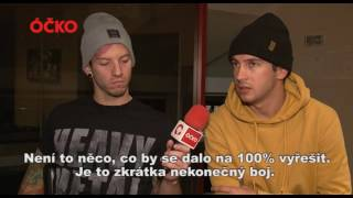ROZHOVOR: TWENTY ONE PILOTS V PRAZE! (INTERVIEW WITH TWENTY ONE PILOTS / EMOTIONAL ROAD SHOW 2016)