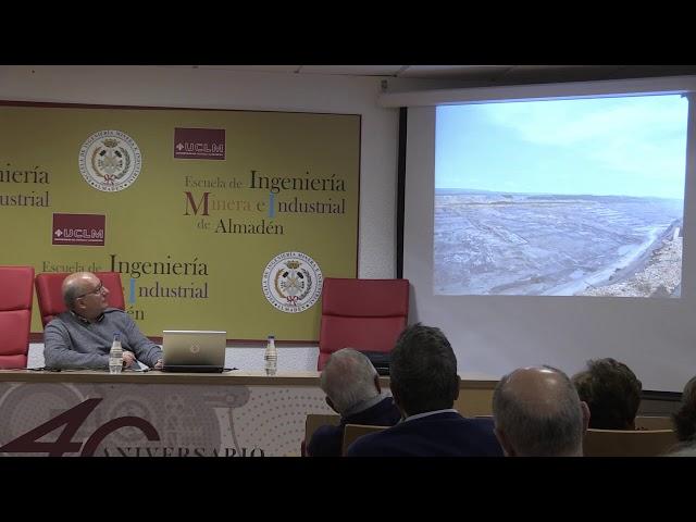 """Conferencia """"Minería, Geología y Medio‐Ambiente"""" por Enrique Ortega Gironés"""