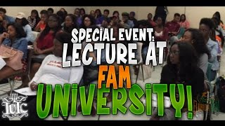 IUIC: Lecture at FAM University!!!