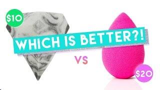 Beauty Blender VS Diamond Sponge + Dissection   KristenLeanneStyle