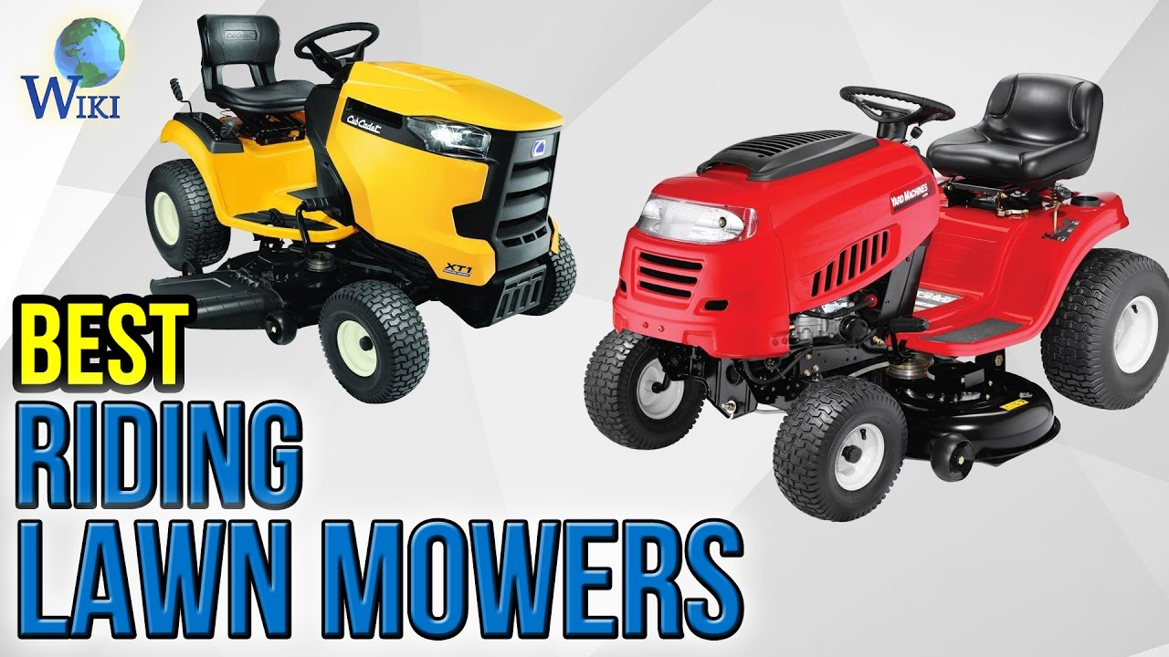 10 Best Riding Lawn Mowers 2017
