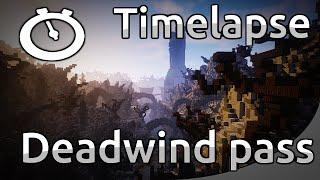 EPIC MINECRAFT TIMELAPSE - WoW Deadwind Pass [Full HD 1080p]