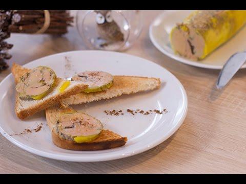 Foie gras à la vapeur (fait maison) - YouTube