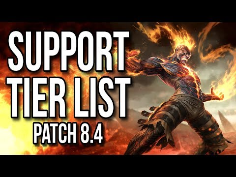 Support Tier List Patch 8.4 - League of Legends thumbnail