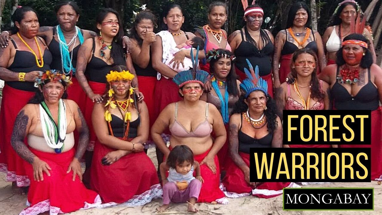 Meet the 'Women Warriors' Protecting the Amazon Forest - EcoWatch