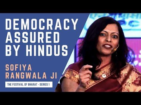 S1: If Hindus Become a Minority, Say Goodbye to India's Democracy    Dr. Sofiya Rangwala ji