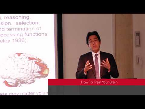 The Secrets of Healthy Ageing lectures - How to Train Your Brain