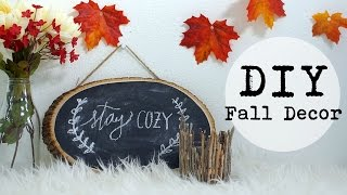 Cozy Fall Diy Decor